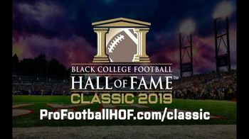 Pro Football Hall of Fame TV Spot, '2019 Black College Football Hall of Fame Classic' - Thumbnail 10