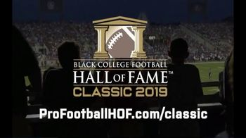 Pro Football Hall of Fame TV Spot, '2019 Black College Football Hall of Fame Classic' - Thumbnail 9