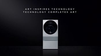LG Signature TV Spot, 'Art Inspires Technology'