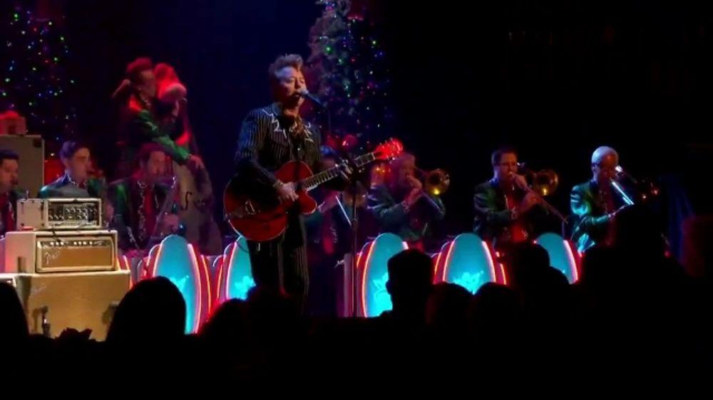 Brian Setzer Christmas.The Brian Setzer Orchestra 16th Annual Christmas Rocks Tour Tv Commercial Bob Hope Theater Video
