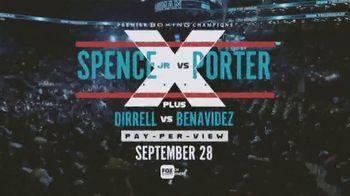 Premier Boxing Champions TV Spot, 'Spence Jr. vs. Porter' Song by Ohana Bam - Thumbnail 8