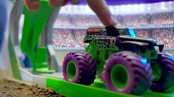 Monster Jam Grim Take Down Playset TV Spot, 'Take Aim'