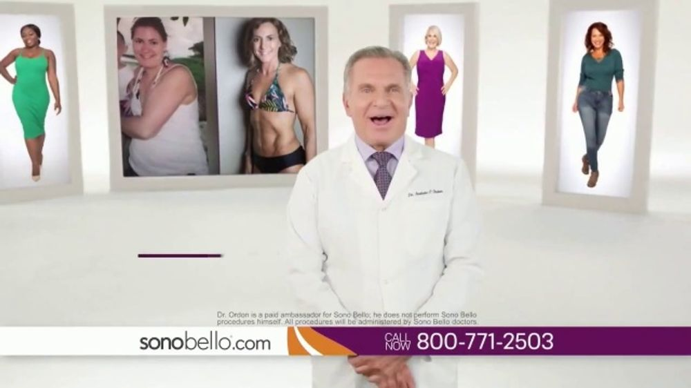 Sono Bello Employee Only Pricing TV Commercial, 'Body Fat Removal' Featuring Dr. Andrew Ordon