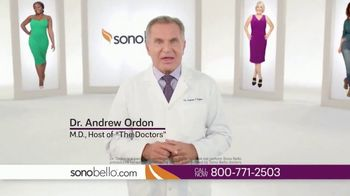 Sono Bello Employee Only Pricing TV Spot, 'Body Fat Removal' Featuring Dr. Andrew Ordon