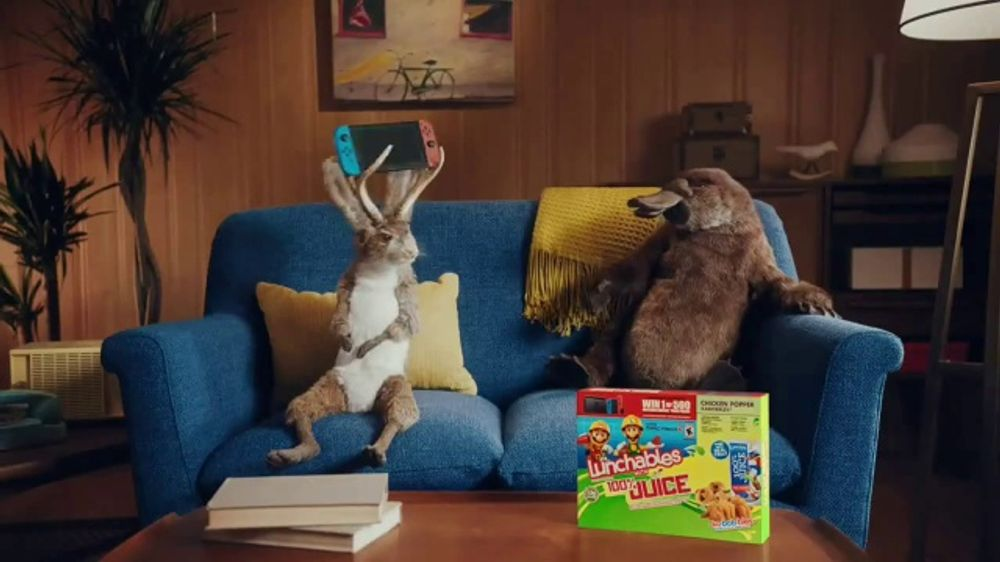 lunchables juice tv commercial win nintendo switch ispottv