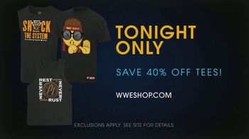 WWE Shop TV Spot, 'Come One, Come All: Save 40% Off Tees' Song by SATV Music - Thumbnail 7