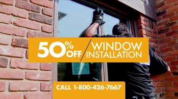 1-800-HANSONS End of Summer Window Sale TV Spot, 'Up to 50 Percent Off'