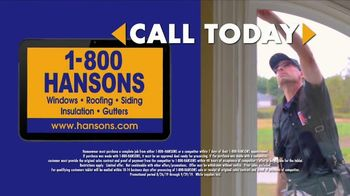 1-800-HANSONS End of Summer Window Sale TV Spot, 'Up to 50 Percent Off' - Thumbnail 5