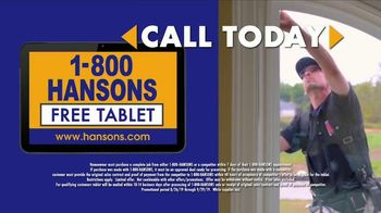 1-800-HANSONS End of Summer Window Sale TV Spot, 'Up to 50 Percent Off' - Thumbnail 6