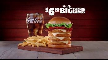 Jack in the Box Really Big Chicken Sandwich Combo TV Spot, 'Wavy Inflatable Tube Man' - Thumbnail 4