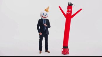Jack in the Box Really Big Chicken Sandwich Combo TV Spot, 'Wavy Inflatable Tube Man' - Thumbnail 6