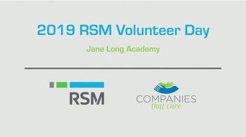 RSM TV Spot, '2019 Volunteer Day' - Thumbnail 1