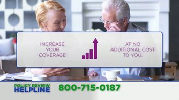 Policy Review Helpline TV Spot, 'Additional Benefits' - Thumbnail 6