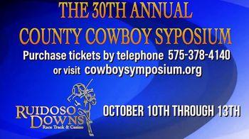 Ruidoso Downs TV Spot, '30th Annual County Cowboy Symposium' - Thumbnail 6