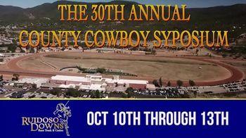 Ruidoso Downs TV Spot, '30th Annual County Cowboy Symposium' - Thumbnail 1