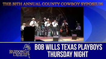 Ruidoso Downs TV Spot, '30th Annual County Cowboy Symposium' - Thumbnail 2