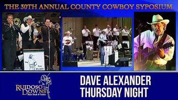 Ruidoso Downs TV Spot, '30th Annual County Cowboy Symposium' - Thumbnail 3