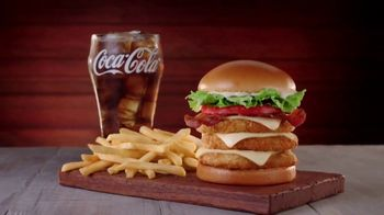 Jack in the Box Really Big Chicken Sandwich Combo TV Spot, 'Tickle My Elbow' - Thumbnail 2