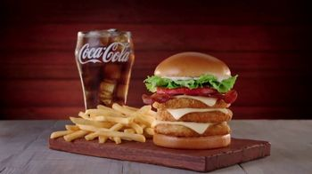 Jack in the Box Really Big Chicken Sandwich Combo TV Spot, 'Tickle My Elbow' - Thumbnail 3