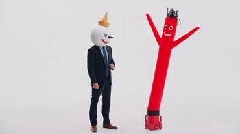 Jack in the Box Really Big Chicken Sandwich Combo TV Spot, 'Tickle My Elbow' - Thumbnail 4