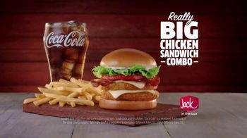 Jack in the Box Really Big Chicken Sandwich Combo TV Spot, 'Tickle My Elbow' - Thumbnail 6