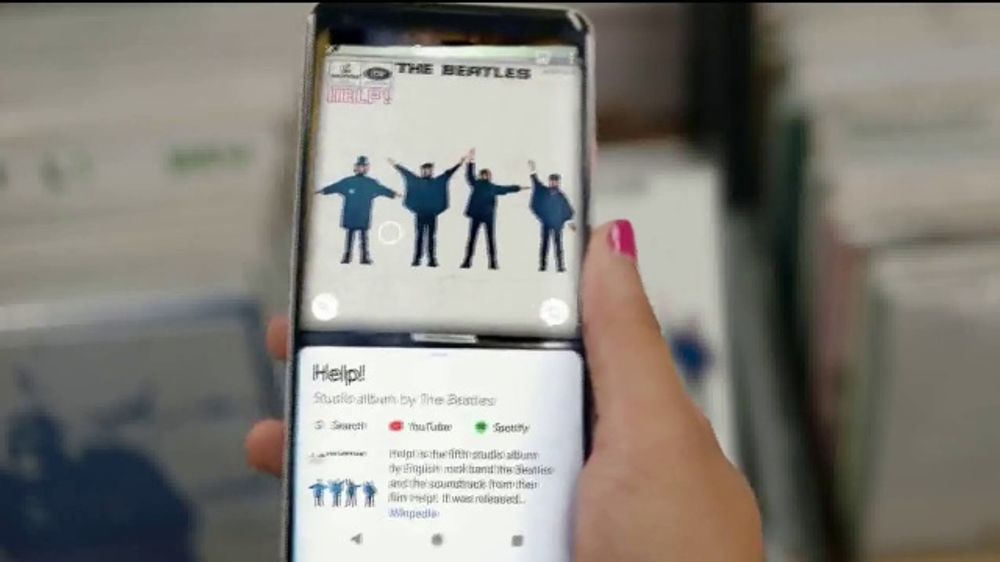 Google TV Commercial, 'Here to Help' Song by The Beatles