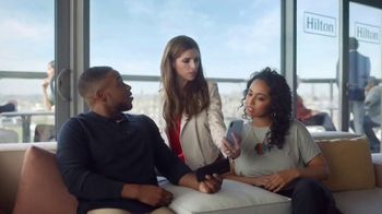 Hilton Hotels Worldwide TV Spot, 'Something Amazing' Featuring Anna Kendrick