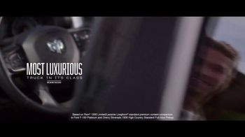 Ram Trucks Labor Day Sales Event TV Spot, 'Win Over Fans' Song by Eric Church [T2] - Thumbnail 2