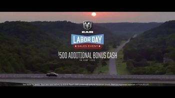 Ram Trucks Labor Day Sales Event TV Spot, 'Win Over Fans' Song by Eric Church [T2] - Thumbnail 8