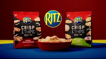 Ritz Crackers Crisp & Thins TV Spot, 'Like a Chip'