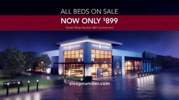 Sleep Number Biggest Sale of the Year TV Spot, 'Queen 360: $899' - Thumbnail 9
