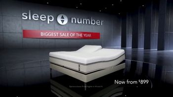 Sleep Number Biggest Sale of the Year TV Spot, 'Queen 360: $899' - Thumbnail 1