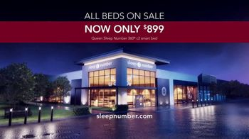 Sleep Number Biggest Sale of the Year TV Spot, 'Queen 360: $899' - Thumbnail 8