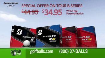 Golfballs.com TV Spot, 'Price Drop on Bridgestone TOUR B Golf Balls' - Thumbnail 2
