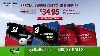 Golfballs.com TV Spot, 'Price Drop on Bridgestone TOUR B Golf Balls'
