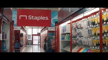 Staples TV Spot, 'Back to School: Notebooks, Composition Notebooks and Poly Folders' - Thumbnail 1