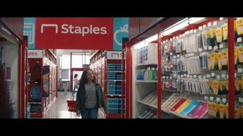 Staples TV Spot, 'Back to School: Notebooks, Composition Notebooks and Poly Folders'