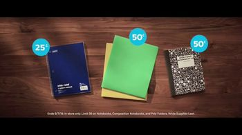 Staples TV Spot, 'Back to School: Notebooks, Composition Notebooks and Poly Folders' - Thumbnail 7