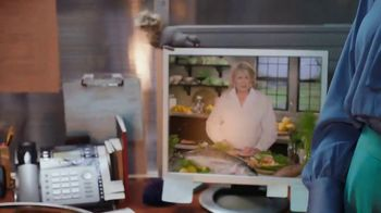 Postmates TV Spot, 'How to Make Grilled Salmon: Gasoline' Featuring Martha Stewart - Thumbnail 5