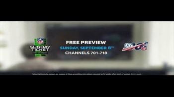 DIRECTV NFL Sunday Ticket TV Spot, 'Laundry Basket' Featuring Dak Prescott - Thumbnail 9
