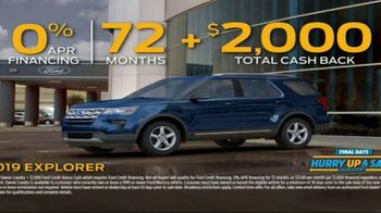 Ford Hurry Up & Save Sales Event TV Spot, 'Too Good to Last' Song by The Black Eyed Peas [T2] - Thumbnail 8