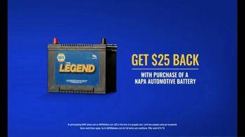 NAPA Auto Parts TV Spot, 'The Legend Auto Battery' - Thumbnail 5