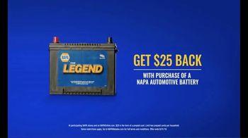 NAPA Auto Parts TV Spot, 'The Legend Auto Battery' - Thumbnail 6