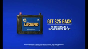 NAPA Auto Parts TV Spot, 'The Legend Auto Battery' - Thumbnail 7