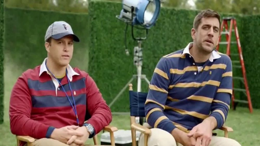 Izod Tv Commercial Behind The Scenes Featuring Colin Jost Aaron Rodgers Ispot Tv