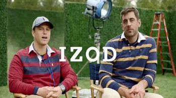 IZOD TV Spot, 'Behind the Scenes' Featuring Colin Jost, Aaron Rodgers - Thumbnail 9