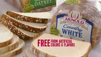 Arnold Country Whole Grains Oatnut Bread TV Spot, 'No Added Nonsense' - Thumbnail 4