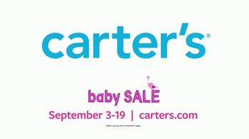 Carter's Baby Sale TV Spot, 'First Moments' - Thumbnail 10