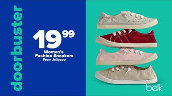 Belk Fall Stock Up Sale TV Spot, 'Sneakers and Kitchen Electrics' - Thumbnail 3