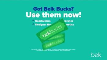 Belk Fall Stock Up Sale TV Spot, 'Sneakers and Kitchen Electrics'